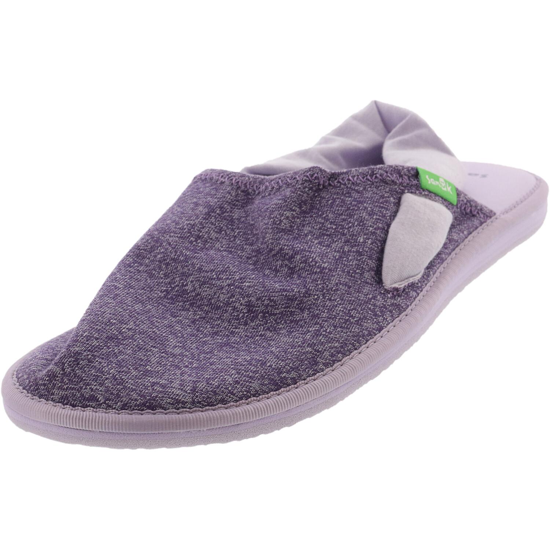 Sanuk Girl's Lil Yoga Sling Cruz Heather Purple Ankle-High Fabric Sandal - 5M