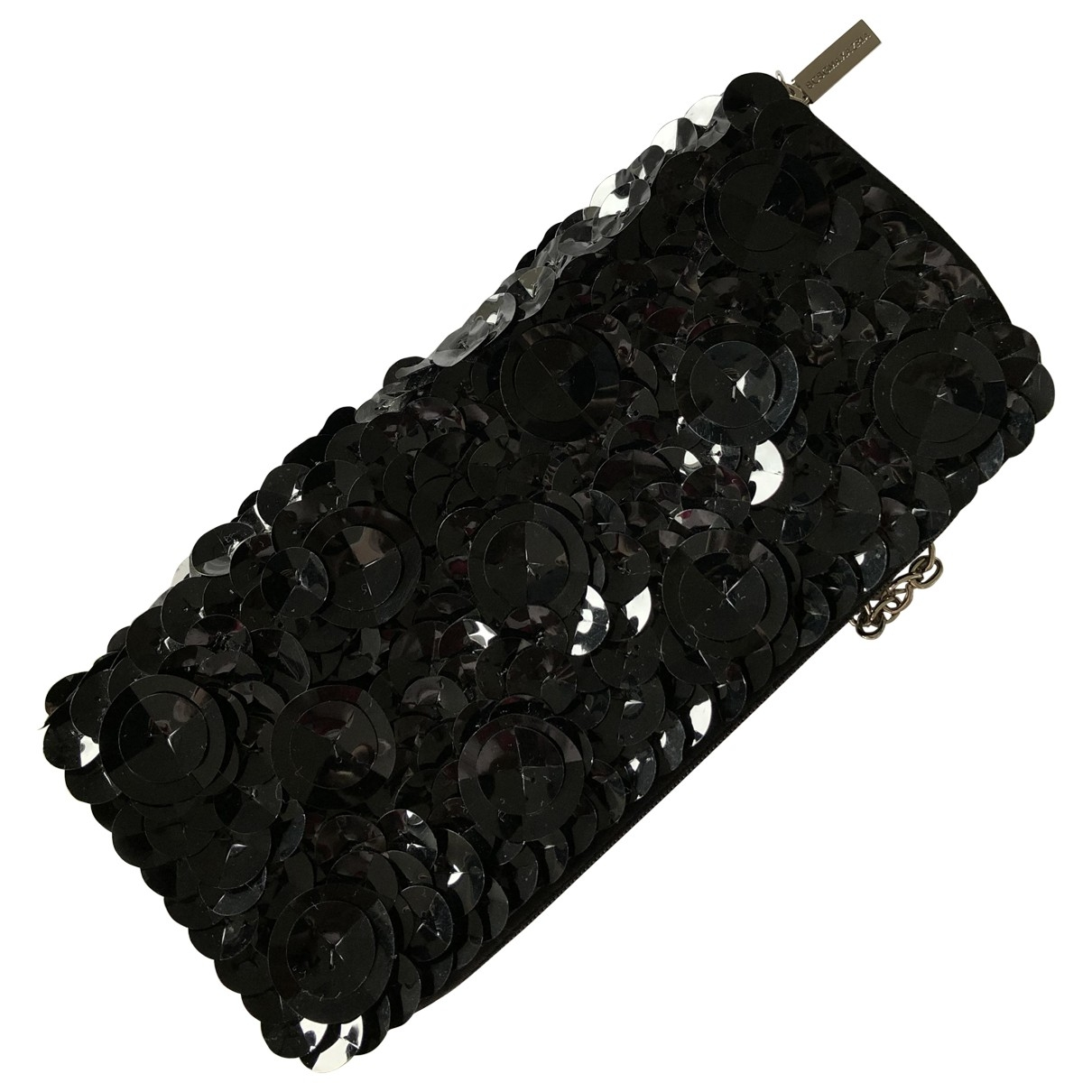 Bcbg Max Azria \N Black Glitter Clutch bag for Women \N