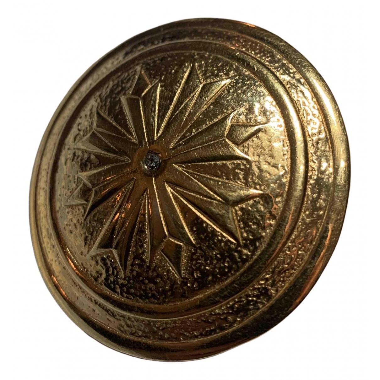 Balenciaga \N Gold Metal Pins & brooches for Women \N