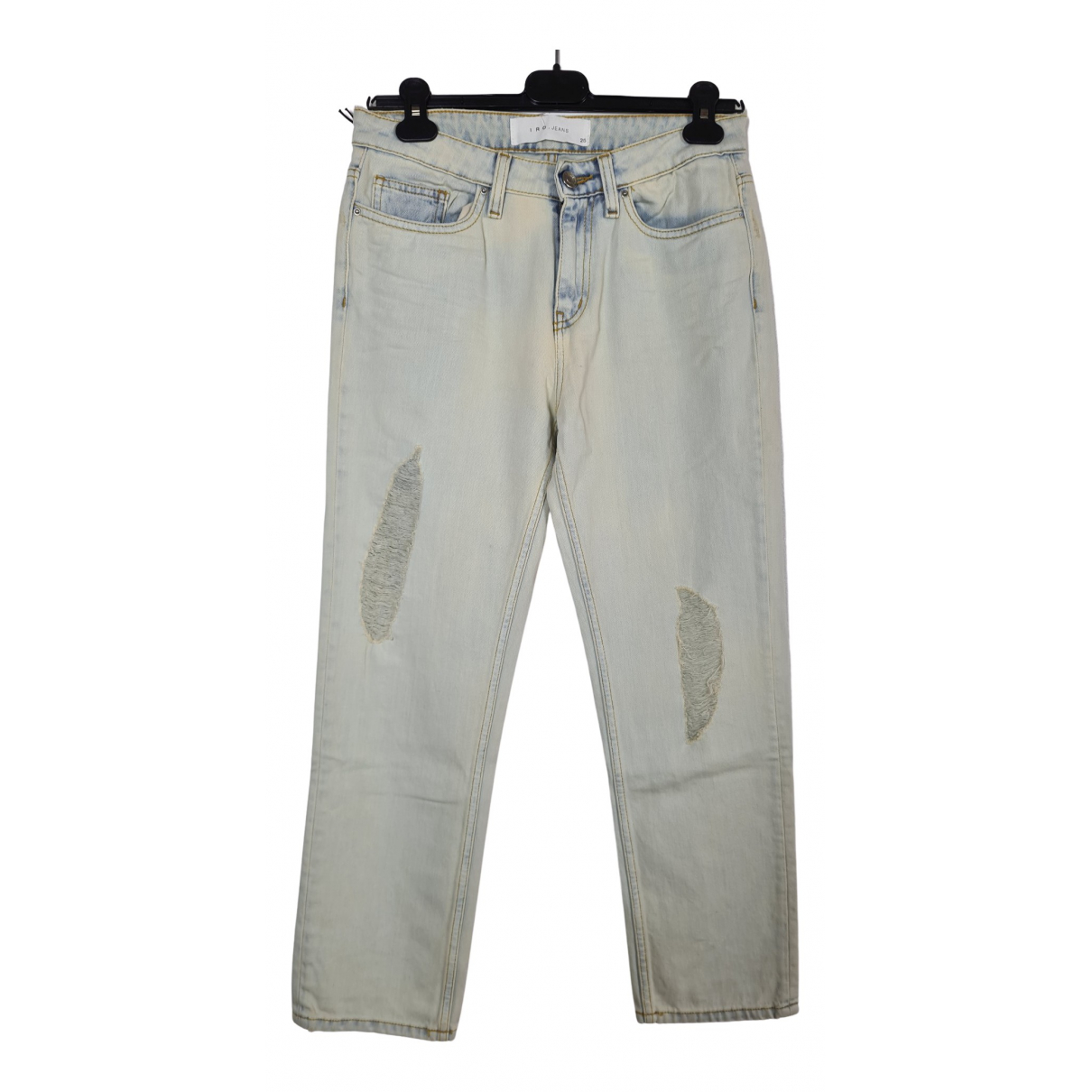 Iro \N Blue Cotton Jeans for Women 25 US