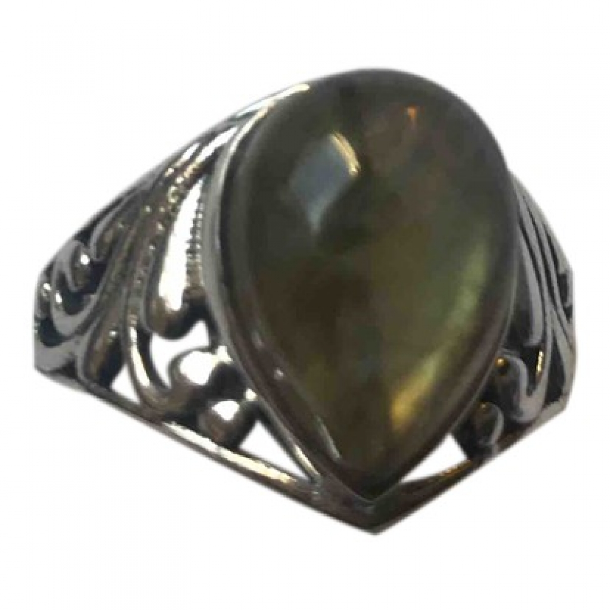 Non Sign?? / Unsigned \N Silver Silver ring for Women \N