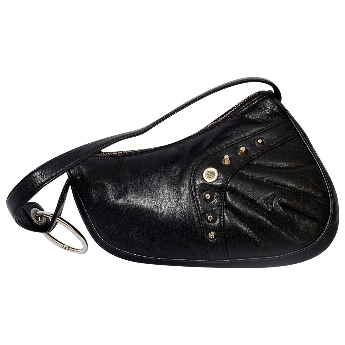 Roberto Cavalli \N Black Leather handbag for Women \N