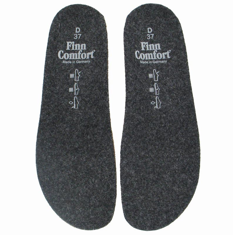 Finn Comfort Footbed - Felt Wedge 41