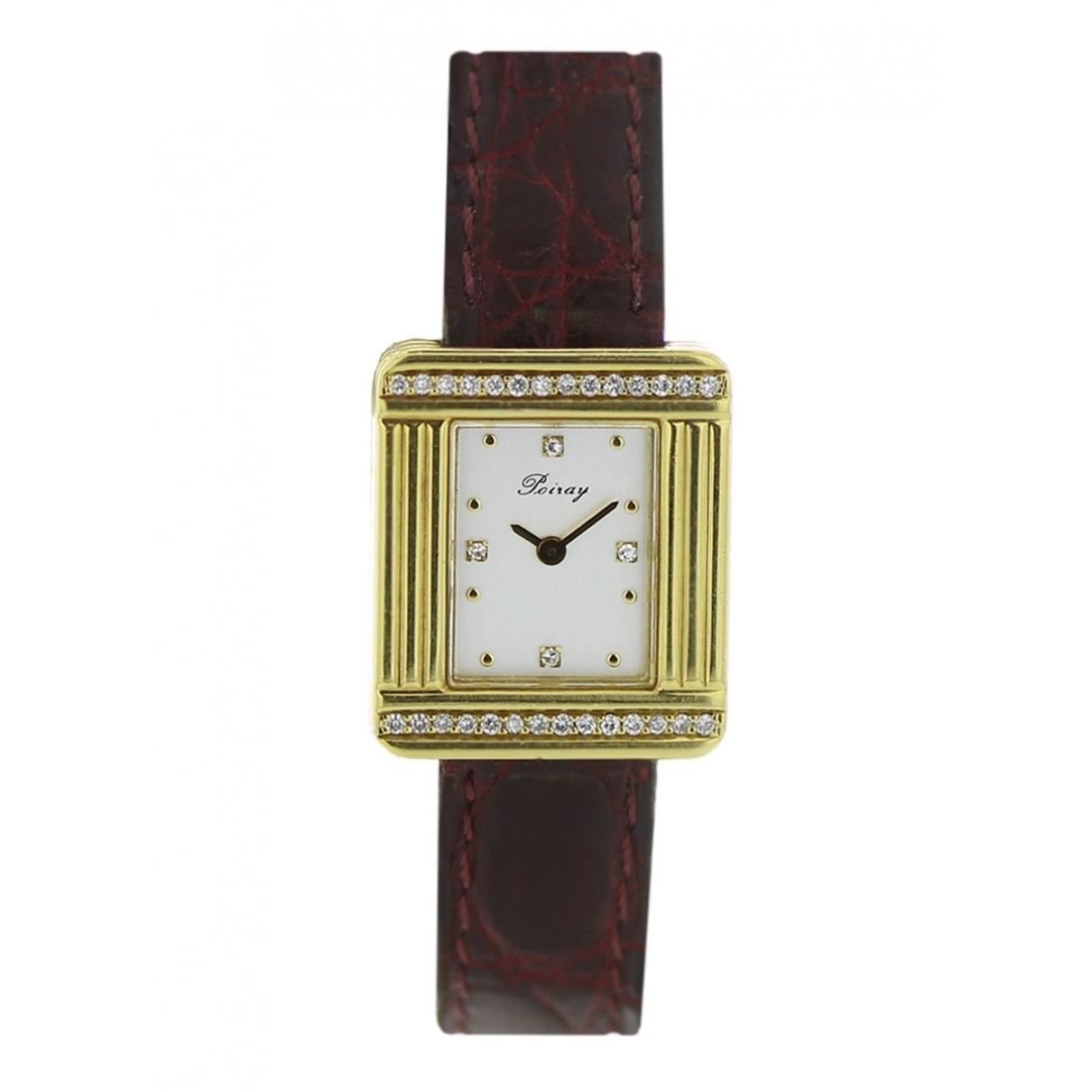 Poiray Ma Première Diamants Khaki Yellow gold watch for Women \N