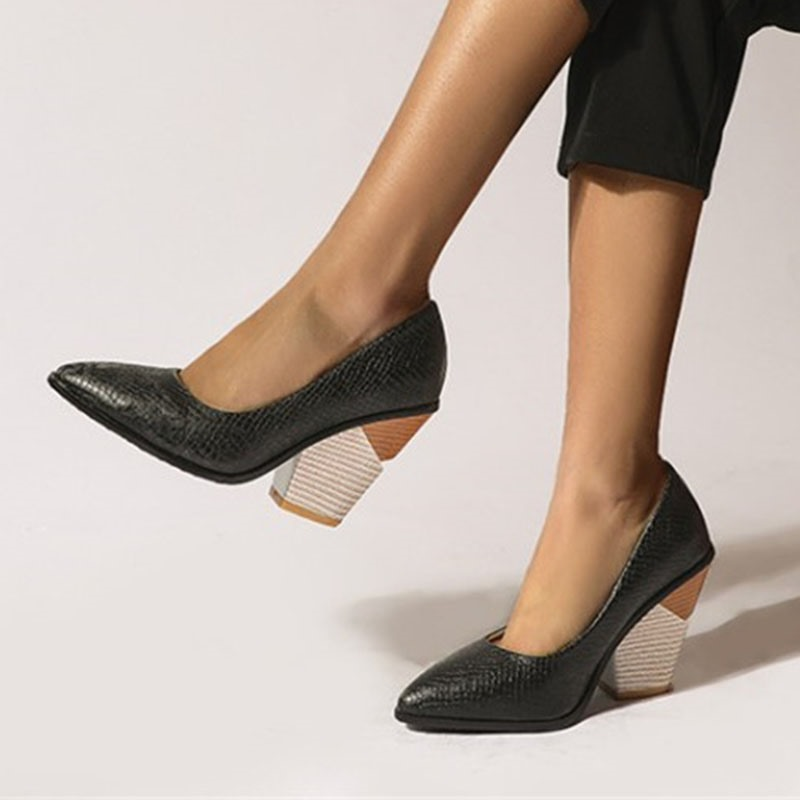 Ericdress Serpentine Slip-On Pointed Toe Casual Thin Shoes