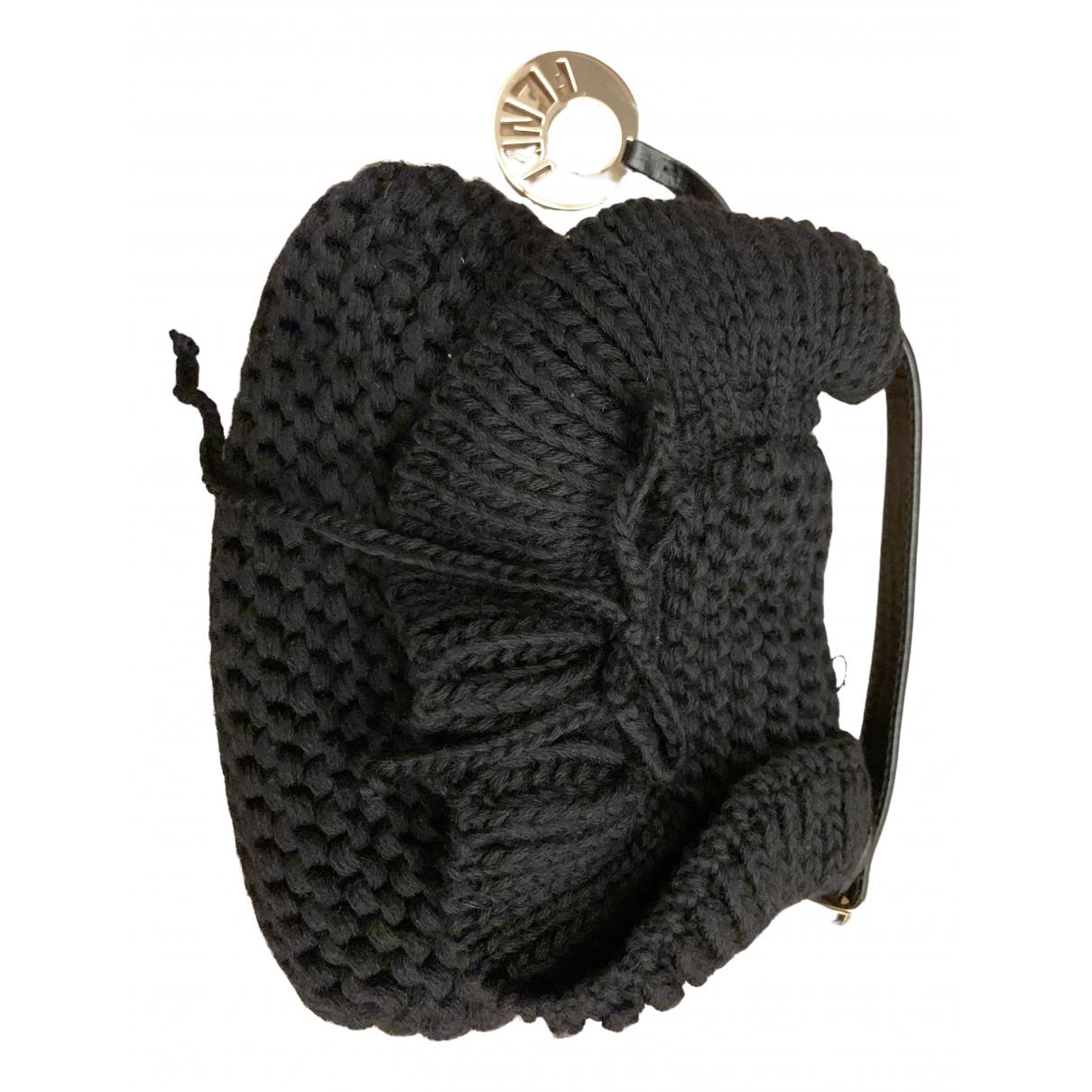 Fendi \N Black Wool handbag for Women \N