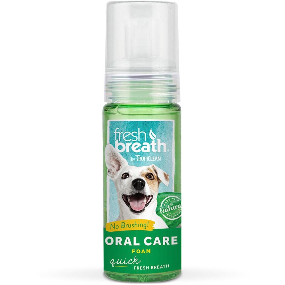 Tropiclean Fresh Breath Instant Fresh Foam (4.5 oz)