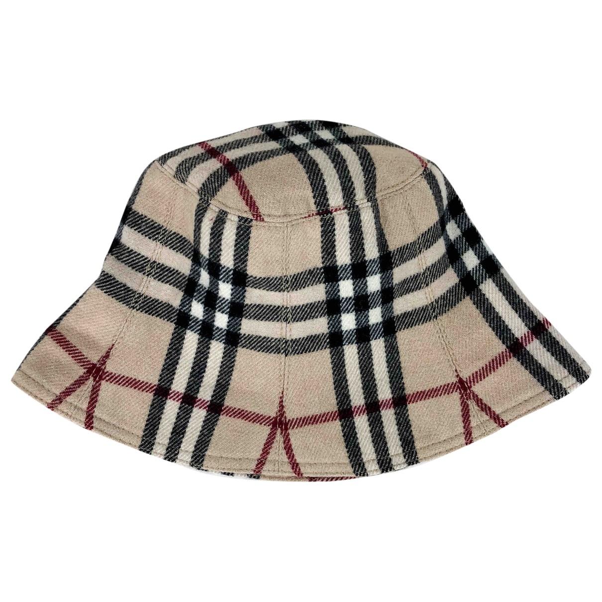 Burberry \N Beige Wool hat for Women M International