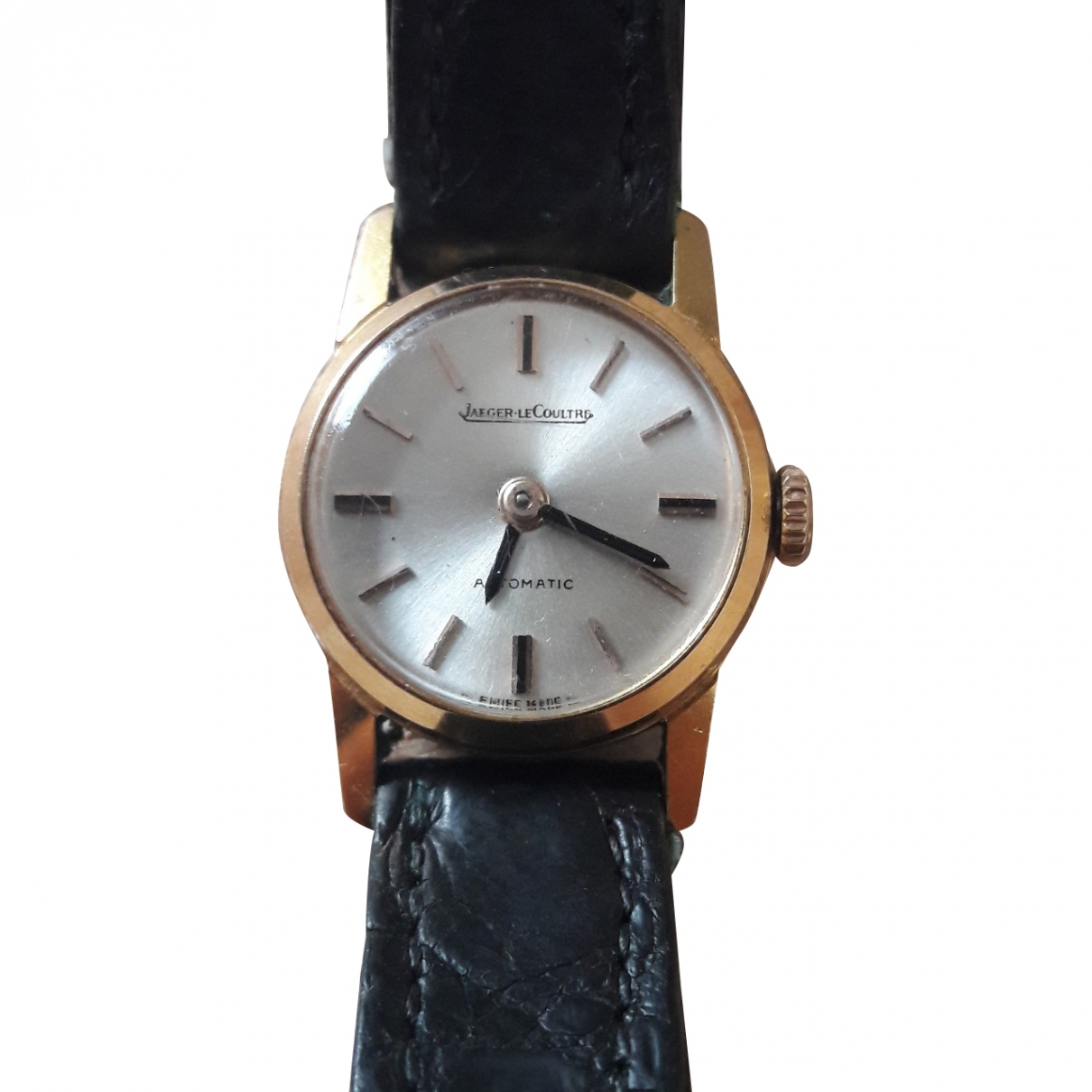 Jaeger-lecoultre Vintage Black Gold plated watch for Women \N