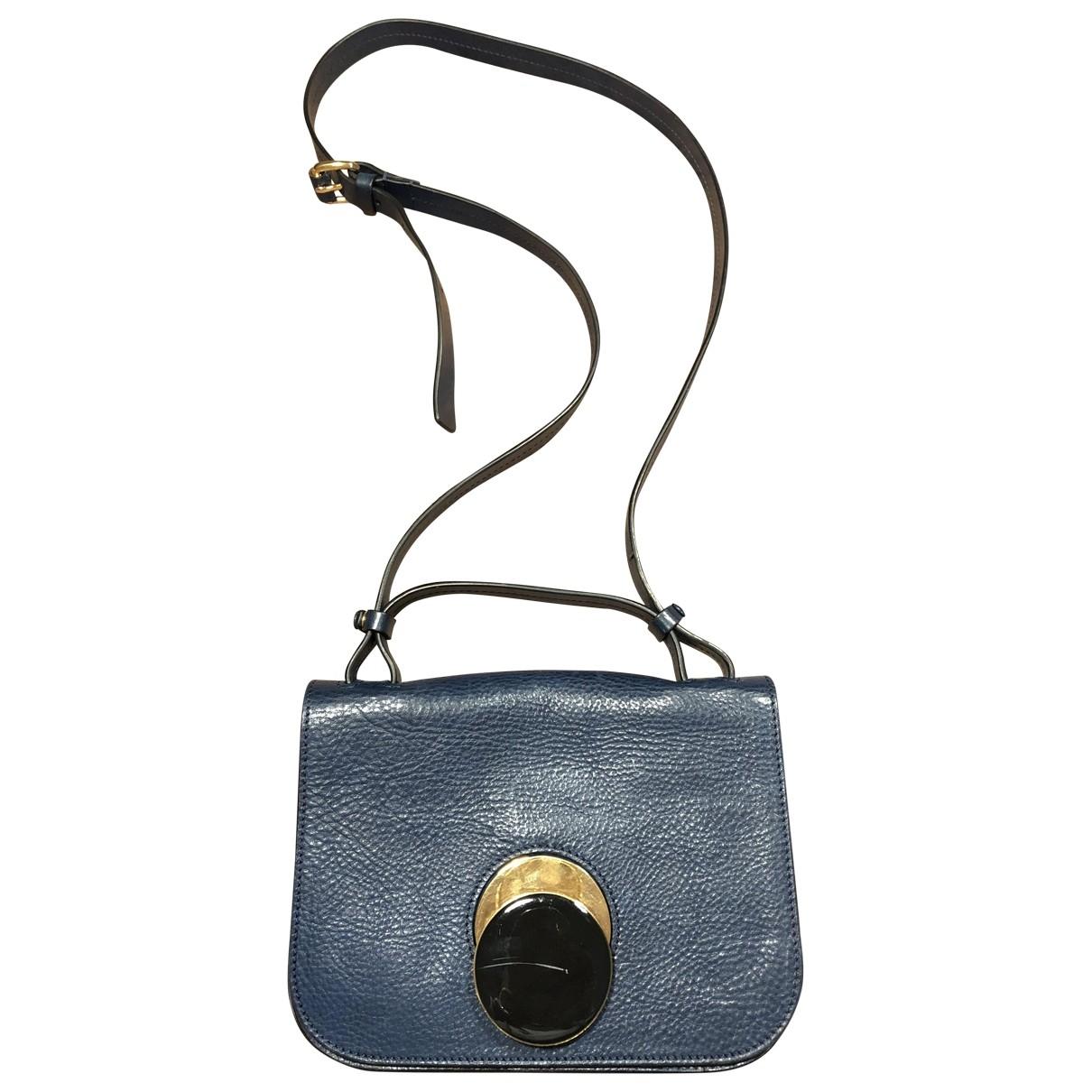 Marni \N Blue Leather handbag for Women \N