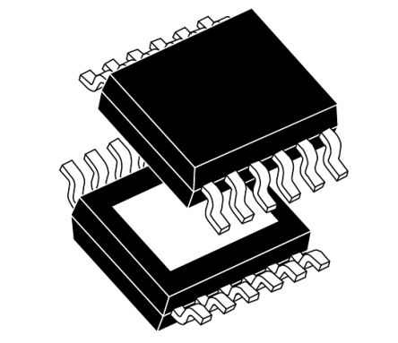 STMicroelectronics VND7140AJ12TR High Side MOSFET Power Driver, 4A 12-Pin, PowerSSO (2500)