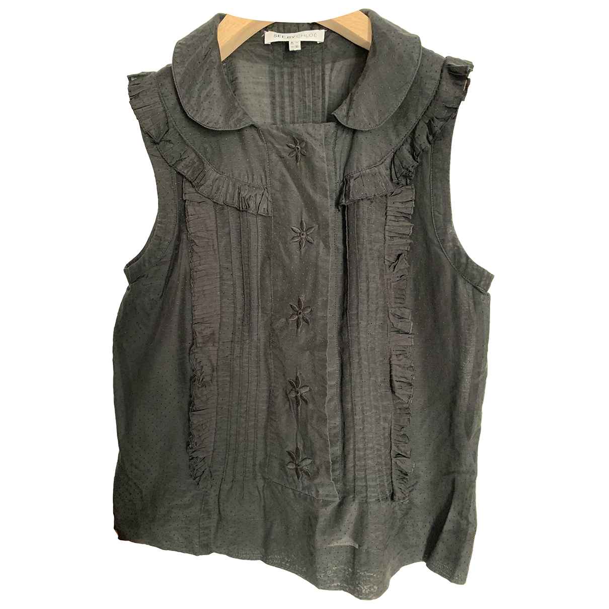 See By Chloé \N Black Cotton  top for Women 40 IT