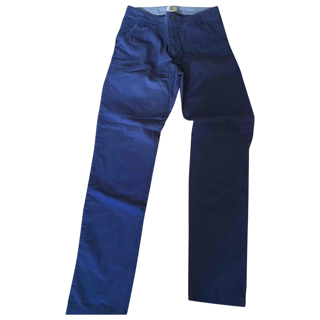 Timberland \N Blue Cotton Trousers for Kids 16 years - M FR