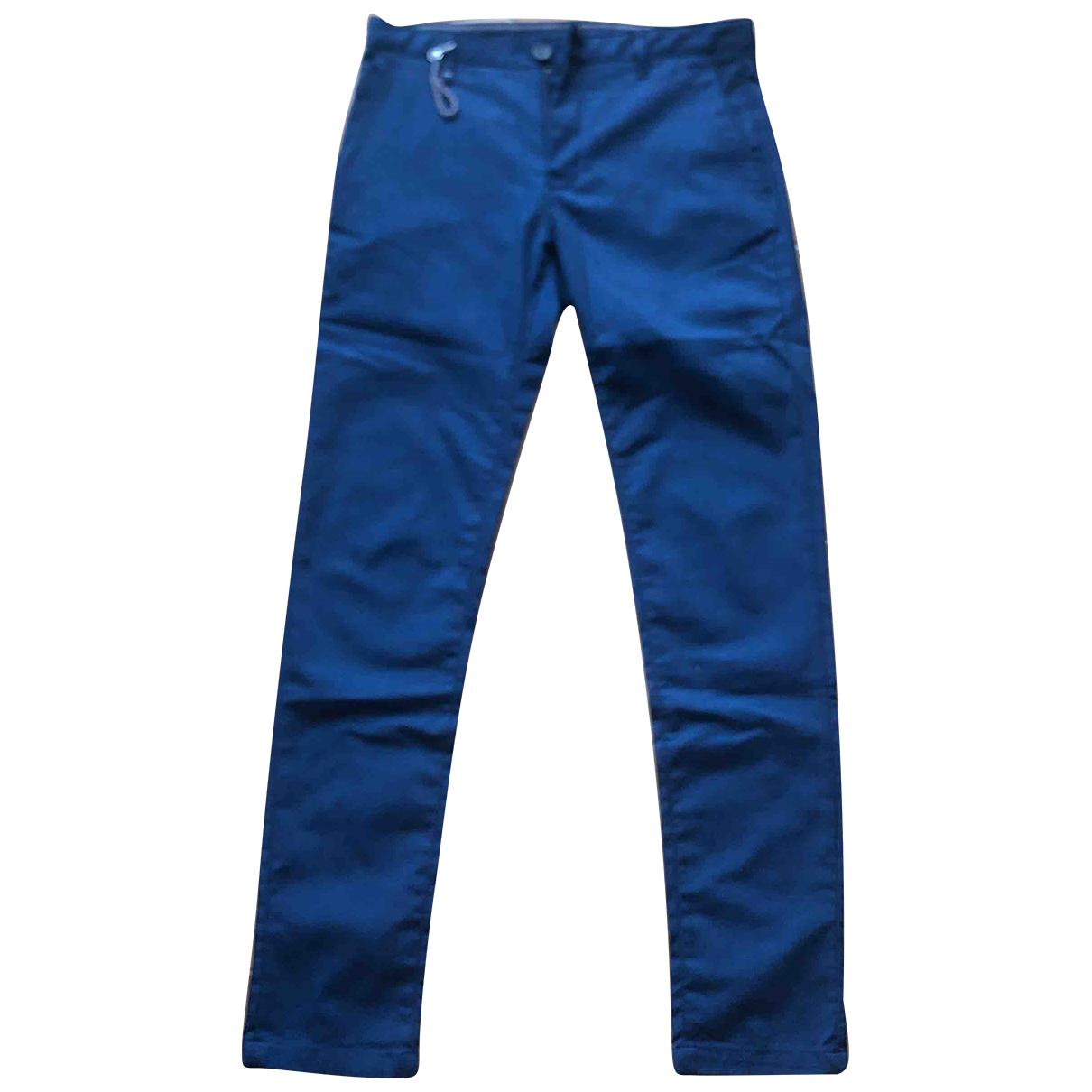 Zara \N Blue Trousers for Men 40 FR