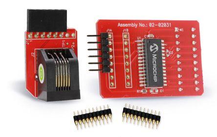 Microchip ICE Processor Extension Pak MCU Add On Board AC244051