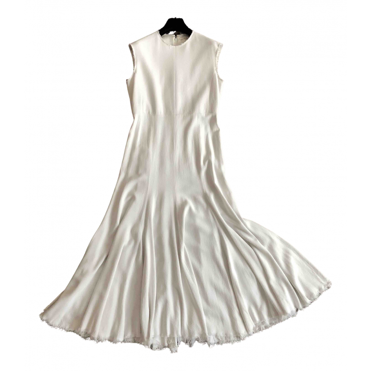 Celine \N White dress for Women 42 FR