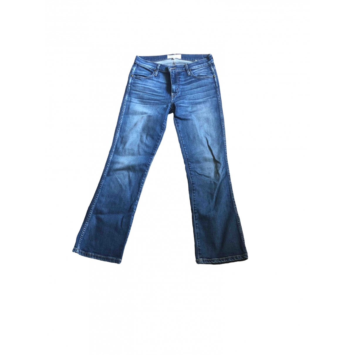The Great \N Blue Cotton - elasthane Jeans for Women 26 US