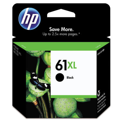 HP 61XL CH563WN Original Black Ink Cartridge High Yield