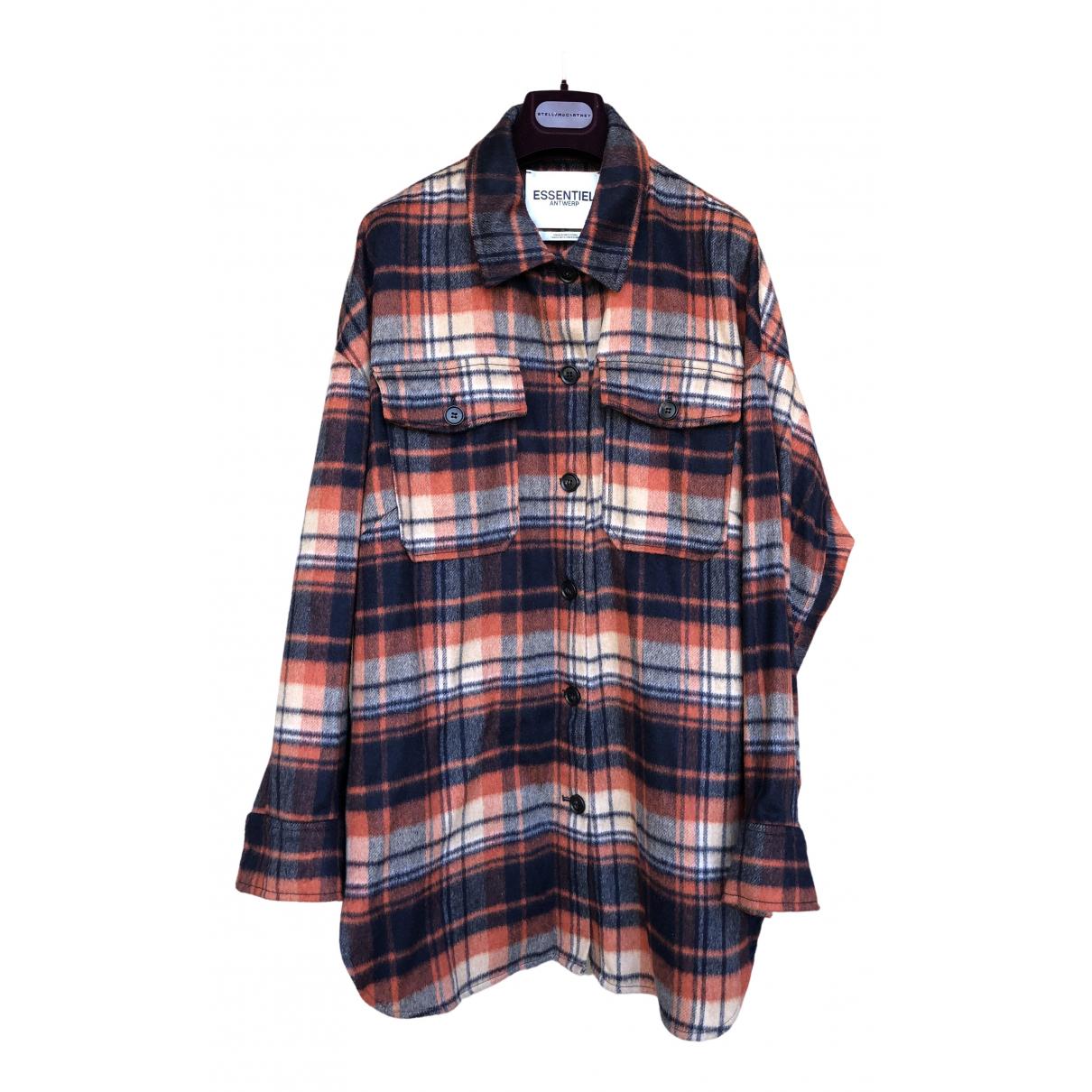 Essentiel Antwerp \N Multicolour Wool jacket for Women 2 US