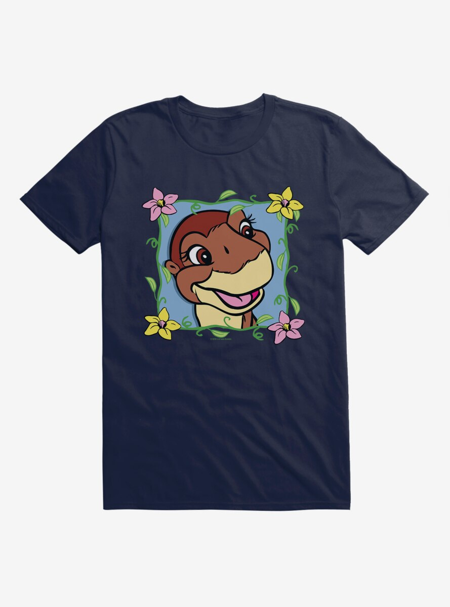 The Land Before Time Littlefoot Flowers T-Shirt