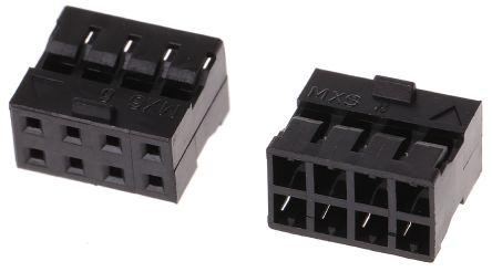 Molex , Milli-Grid Female Connector Housing, 2mm Pitch, 8 Way, 2 Row (10)