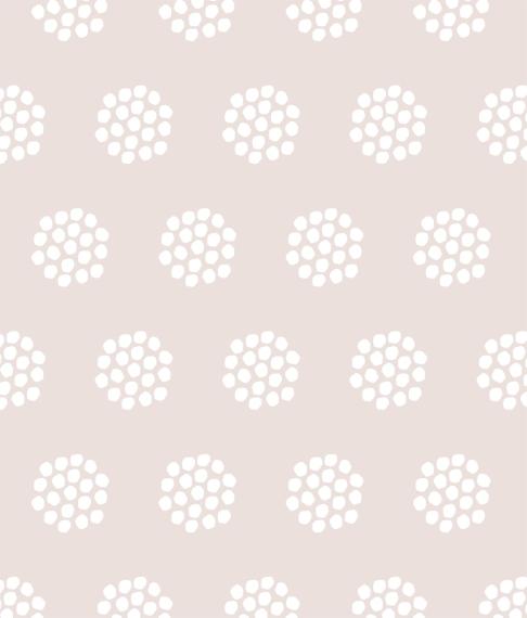 Non Photo Framed Canvas Print, Oak, 8x10, Home Décor -Dot Clusters