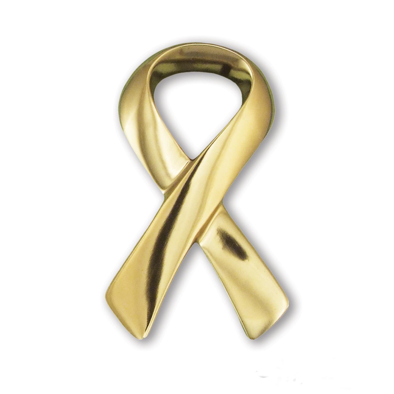 Ribbon Door Knocker - Brass