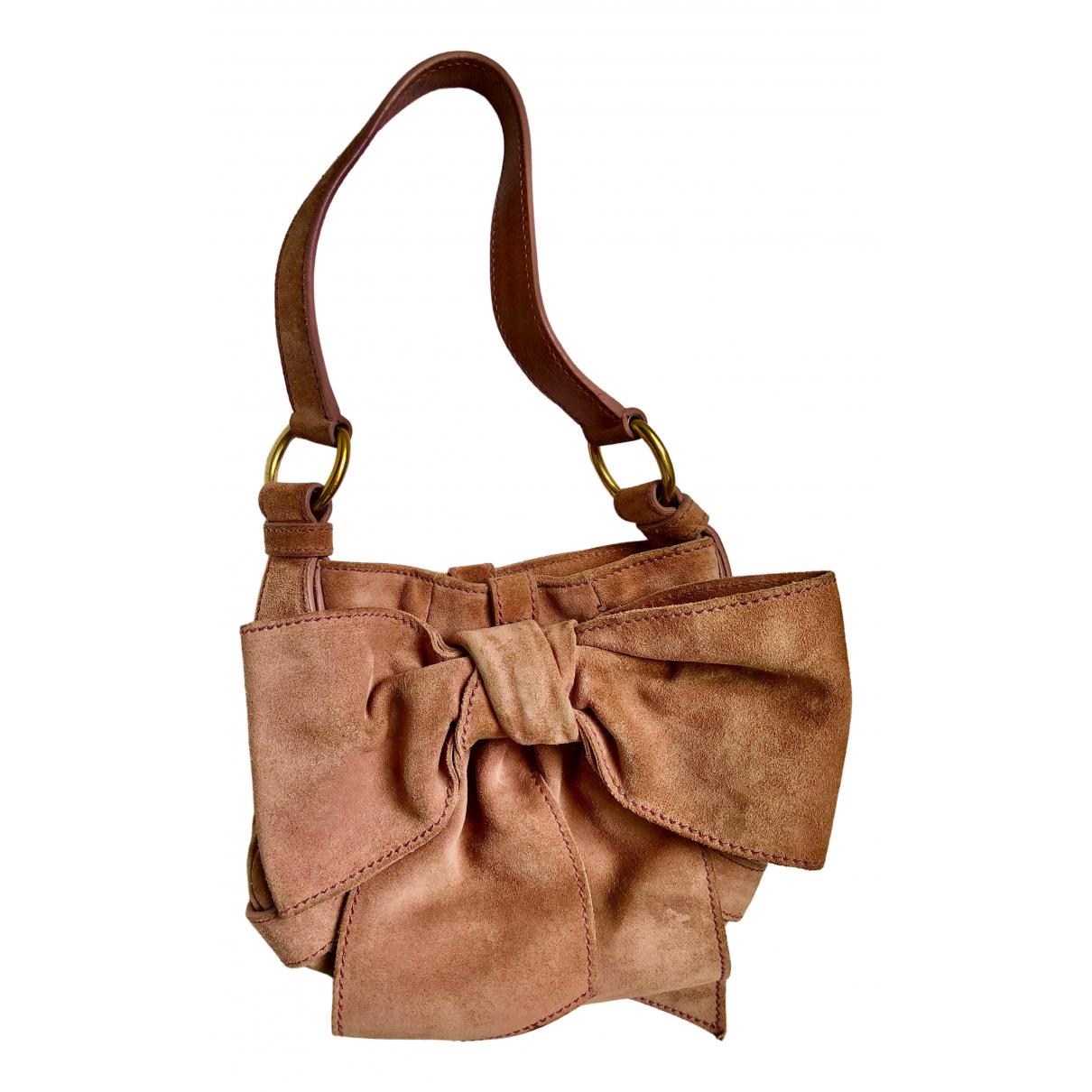 Yves Saint Laurent \N Pink Suede handbag for Women \N