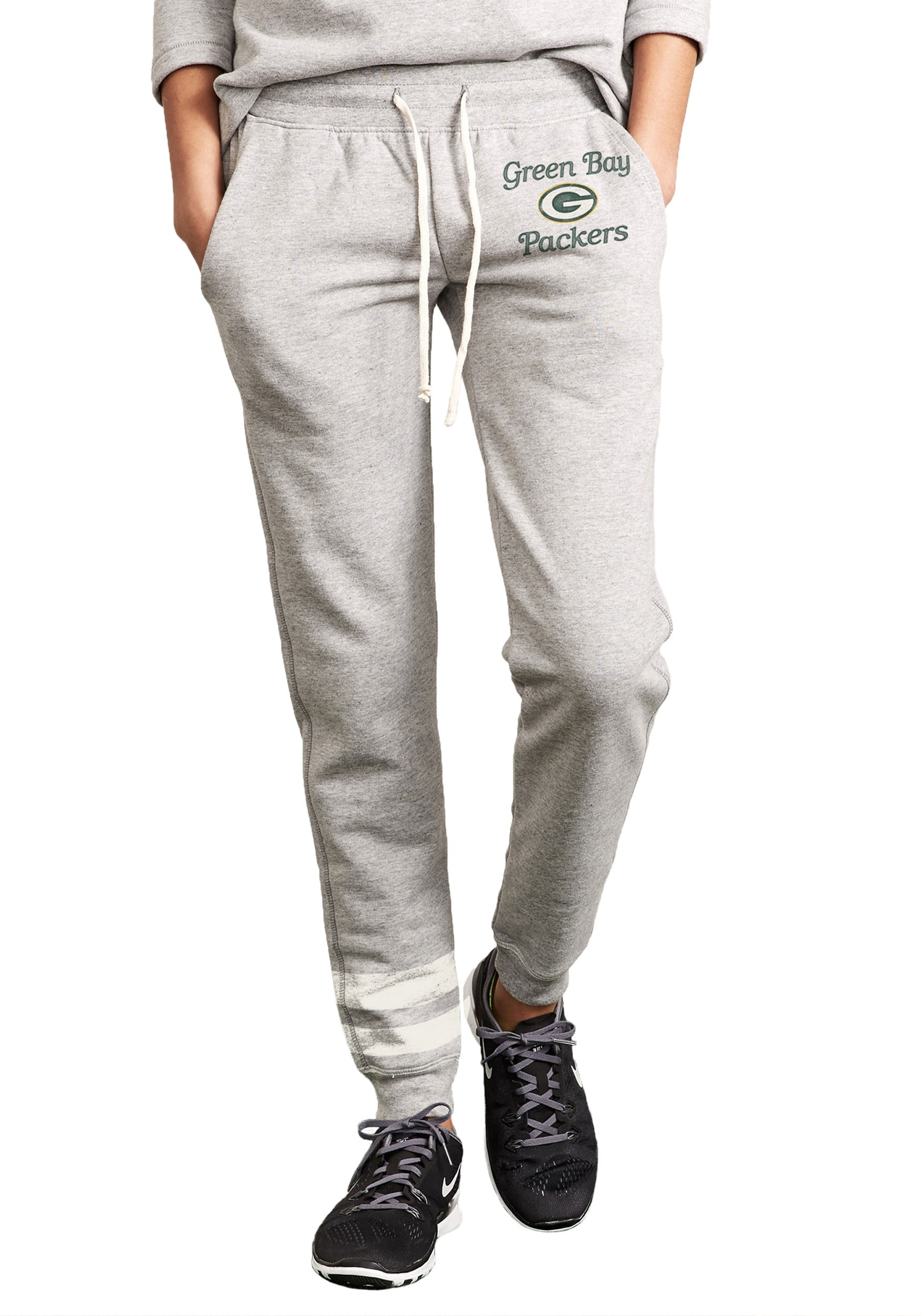 Green Bay Packers Sunday Sweat Pants for Women