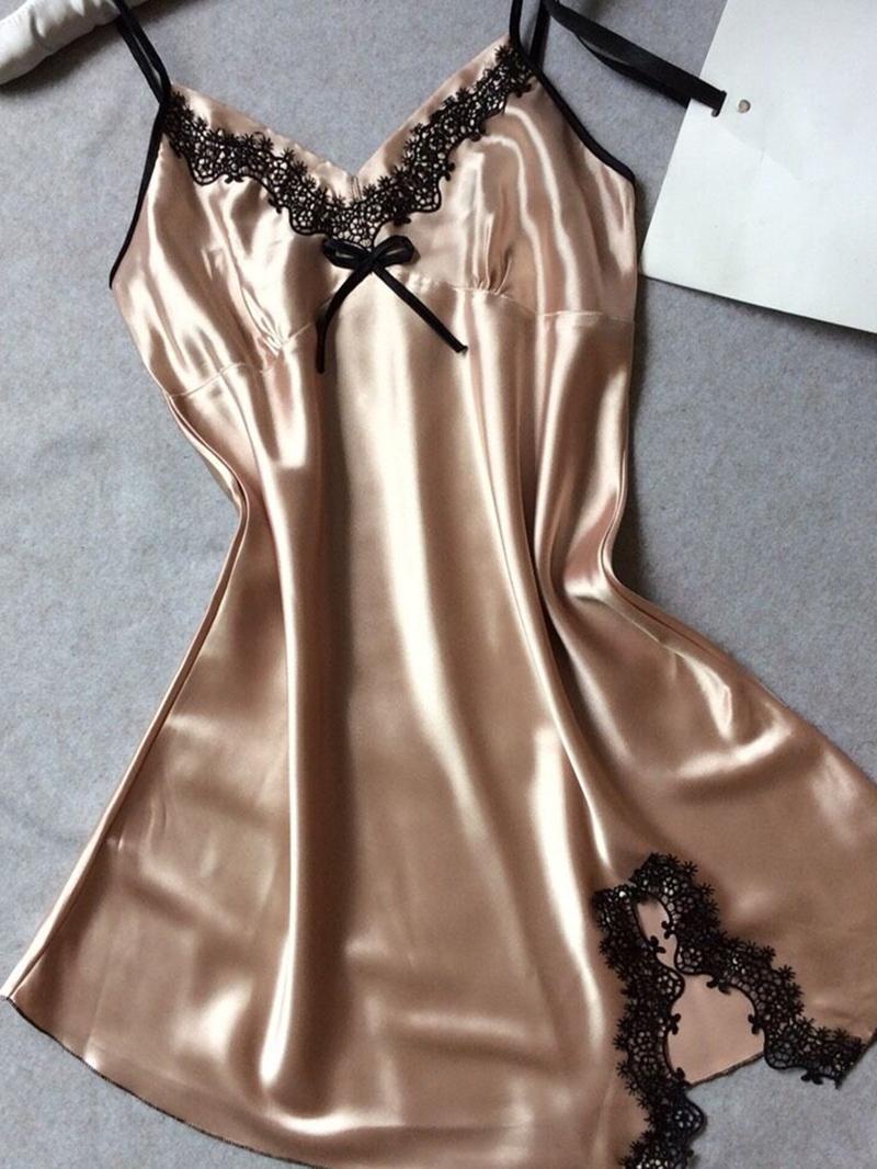 Ericdress Sleeveless Pullover Plain Nightgown