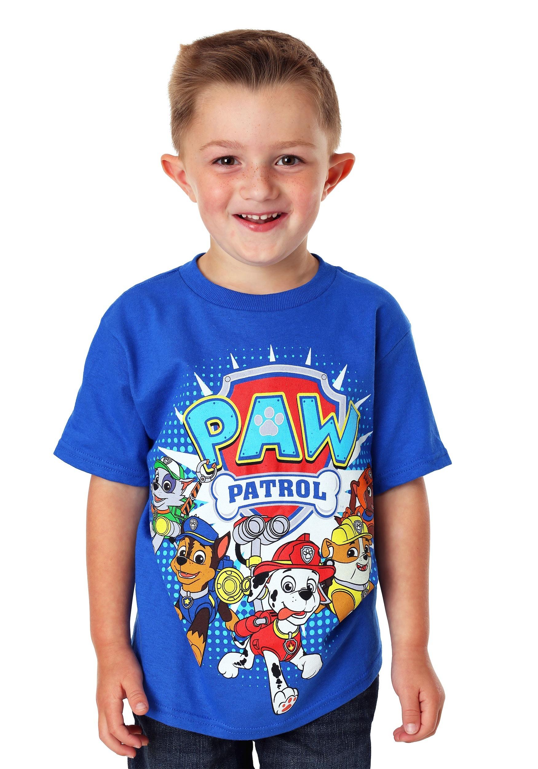 Paw Patrol Group Shot Boy's T-Shirt