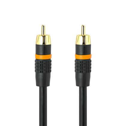 Câble RCA coaxial audio/vidéo M/M RG59U 75ohm (6 longueurs) - PrimeCables® - 3pi