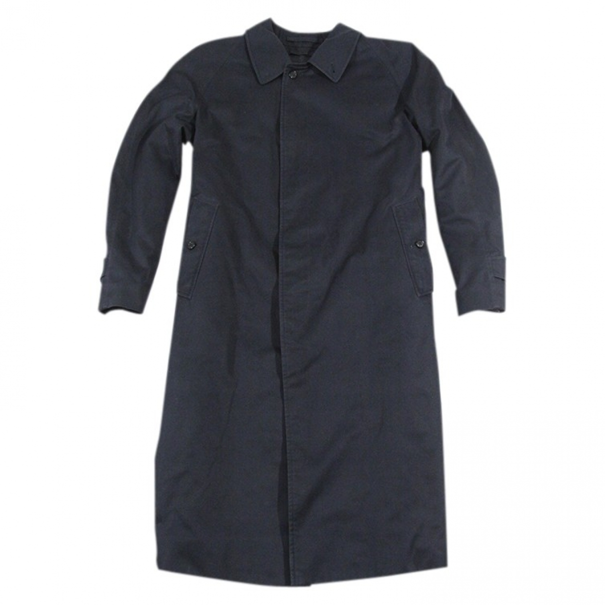 Burberry \N Navy Cotton coat  for Men XL International
