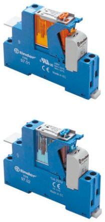 Finder , 48V ac SPDT Interface Relay Module, Screw Terminal , DIN Rail