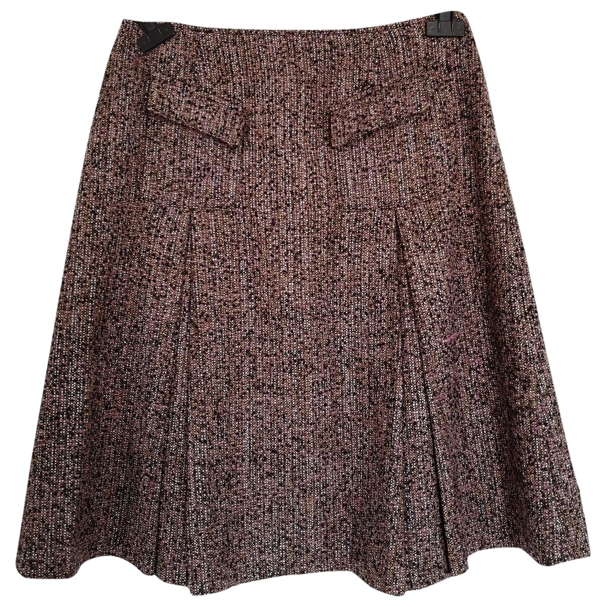 Non Signé / Unsigned \N Pink Wool skirt for Women 42 FR