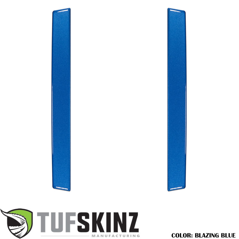 Tufskinz RUN021-GBL-G Rear Door Sills Fits 14-up Toyota 4Runner 2 Piece Kit Blazing Blue