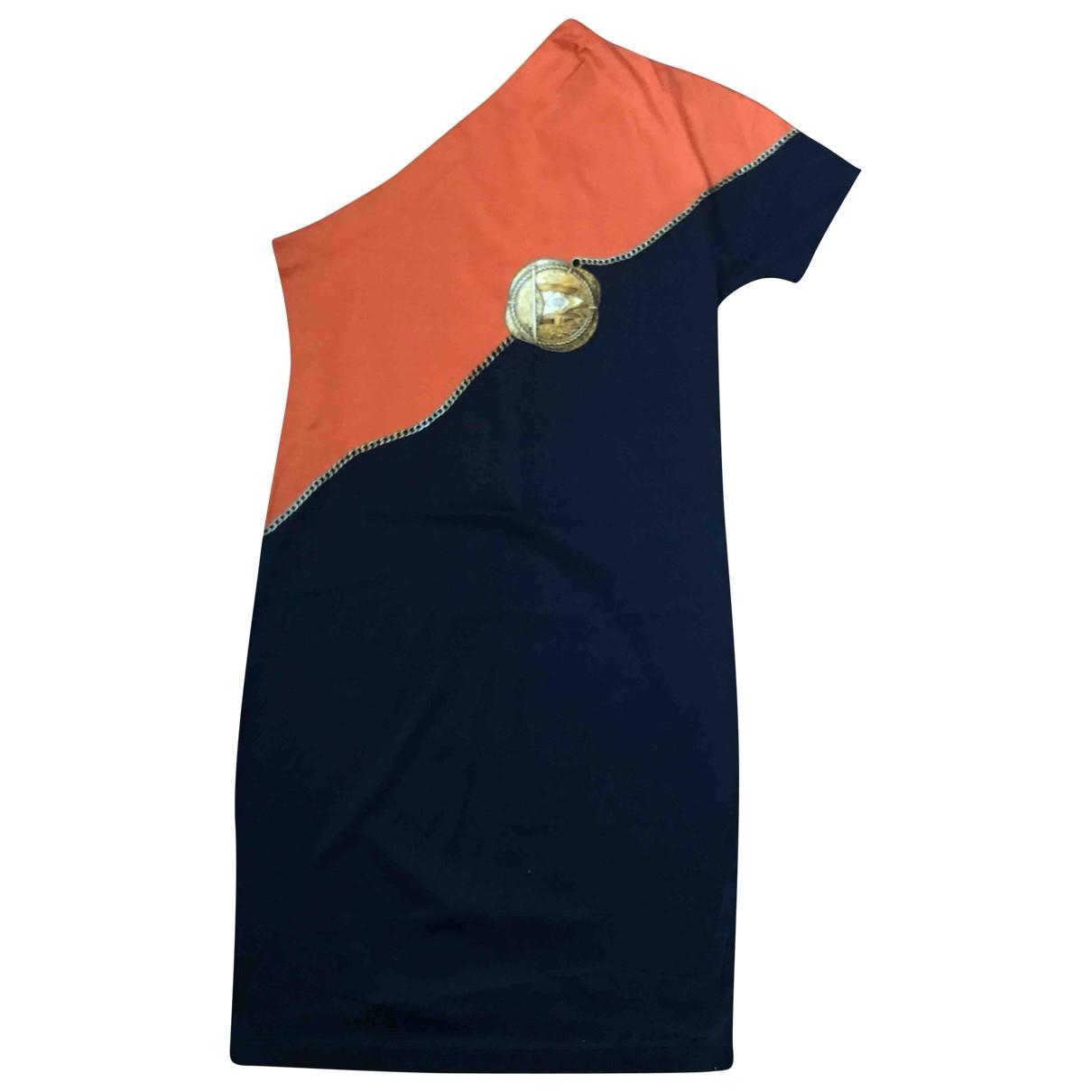 Gucci \N Blue Cotton dress for Women 46 IT