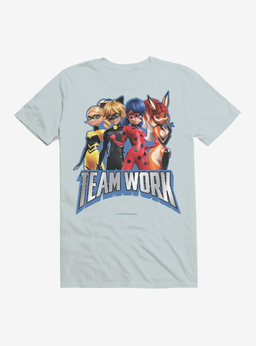 Miraculous: Tales Of Ladybug And Cat Noir Team Work T-Shirt