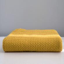 1pc Knitted Tassel Blanket