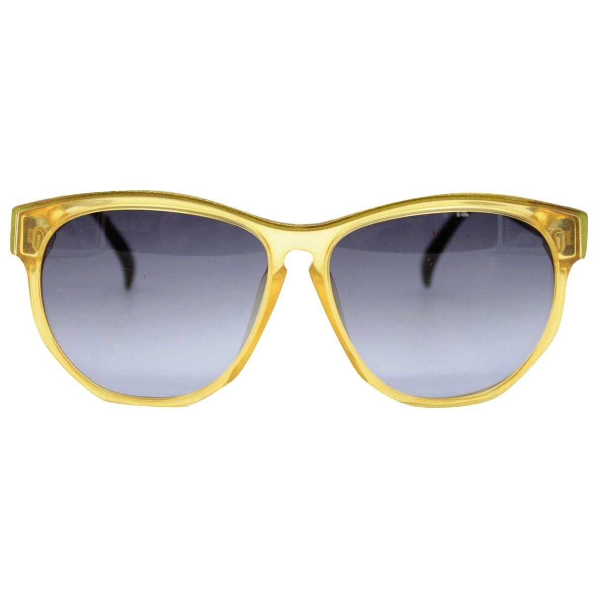 Dior \N Yellow Sunglasses for Women \N