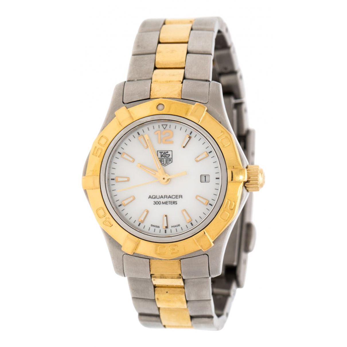 Tag Heuer Aquaracer  Silver gold and steel watch for Women \N
