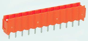 Weidmuller , OMNIMATE SL, 12 Way, 1 Row, Straight PCB Header (5)