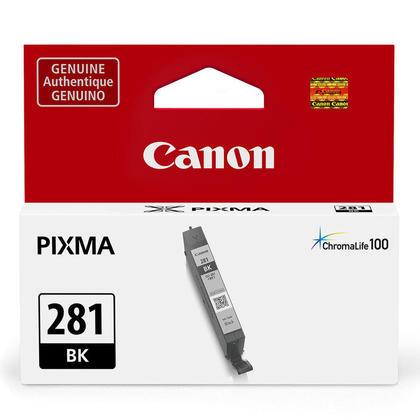 Canon CLI-281 Original Black Ink Tank (2091C001), Standard Yield