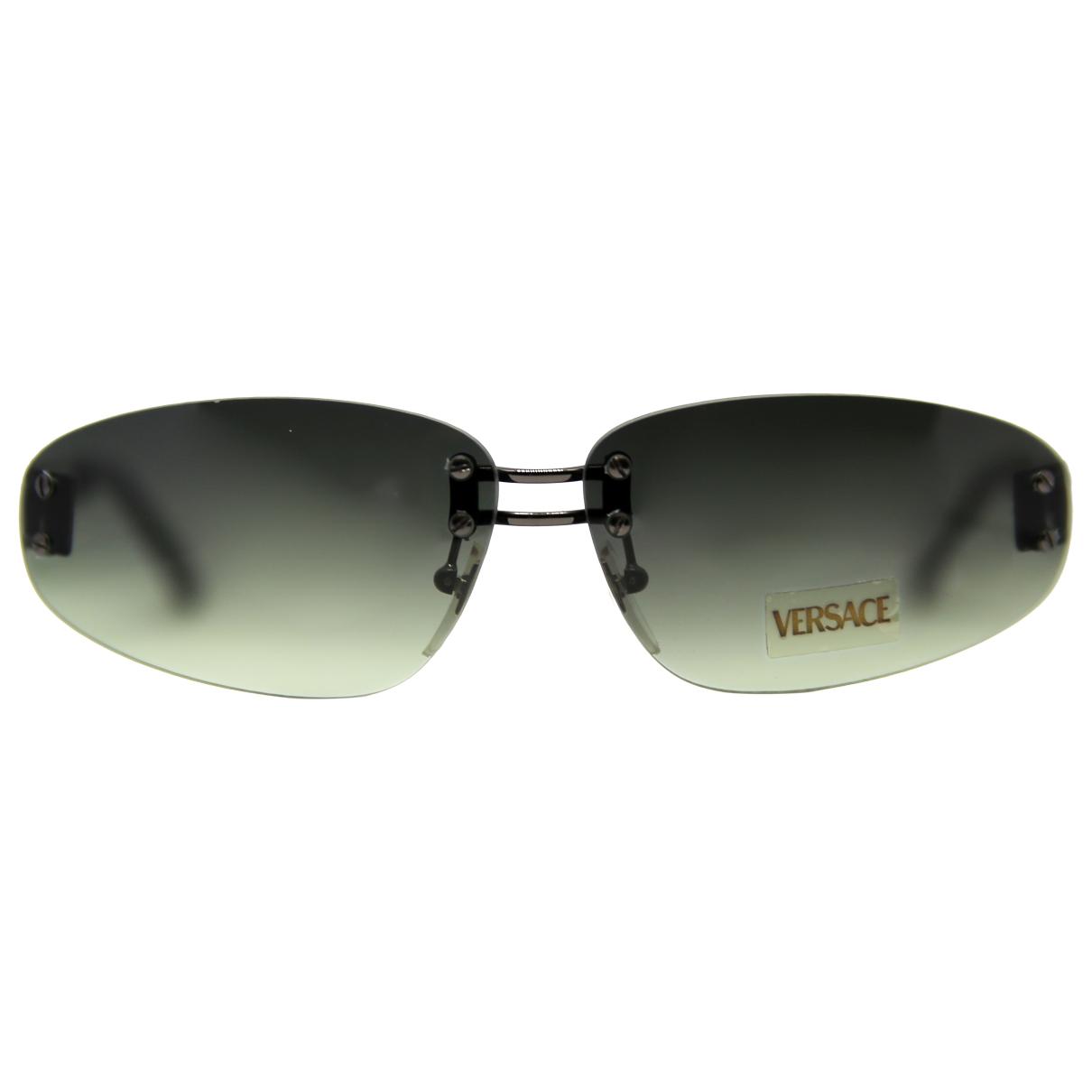 Gianni Versace \N Black Metal Sunglasses for Women \N