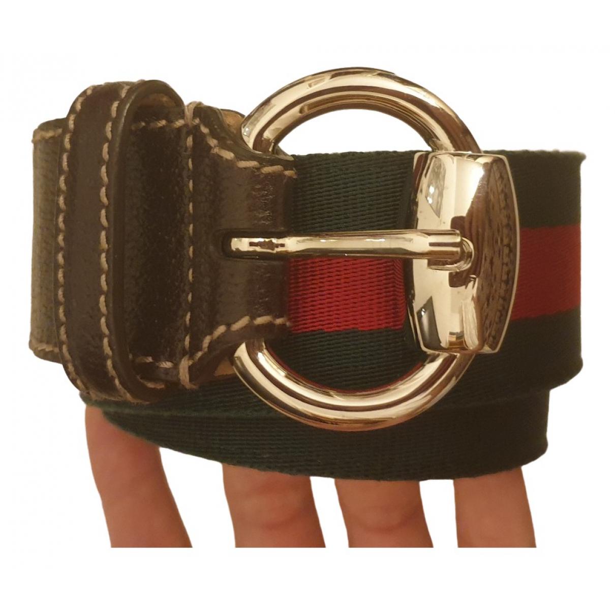 Gucci \N Multicolour Cloth belt for Women XS International