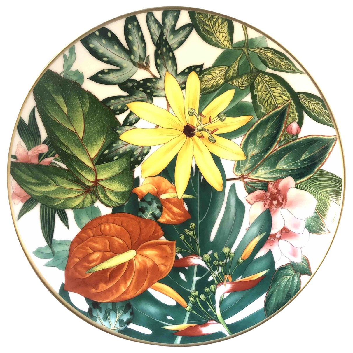 Hermès \N Multicolour Porcelain Dinnerware for Life & Living \N