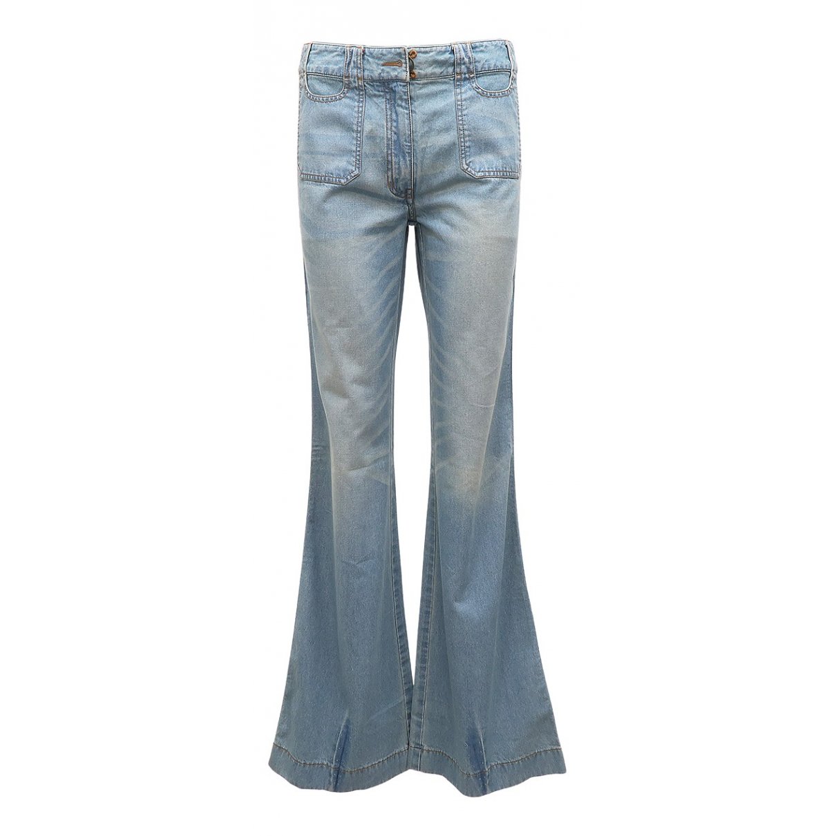 3.1 Phillip Lim \N Blue Cotton Jeans for Women 38 FR