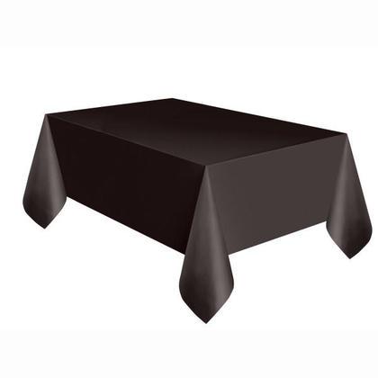 Noir Solide Rectangulaire en Plastique sur le Couvercle de la Table 54