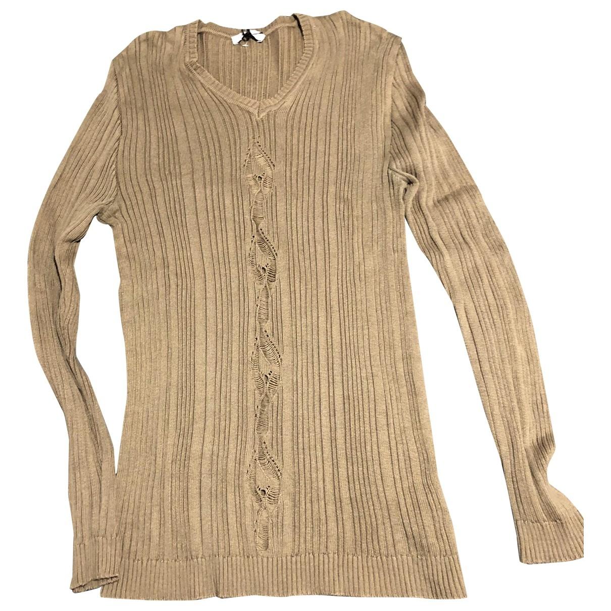 Versace \N Beige Cotton Knitwear & Sweatshirts for Men M International
