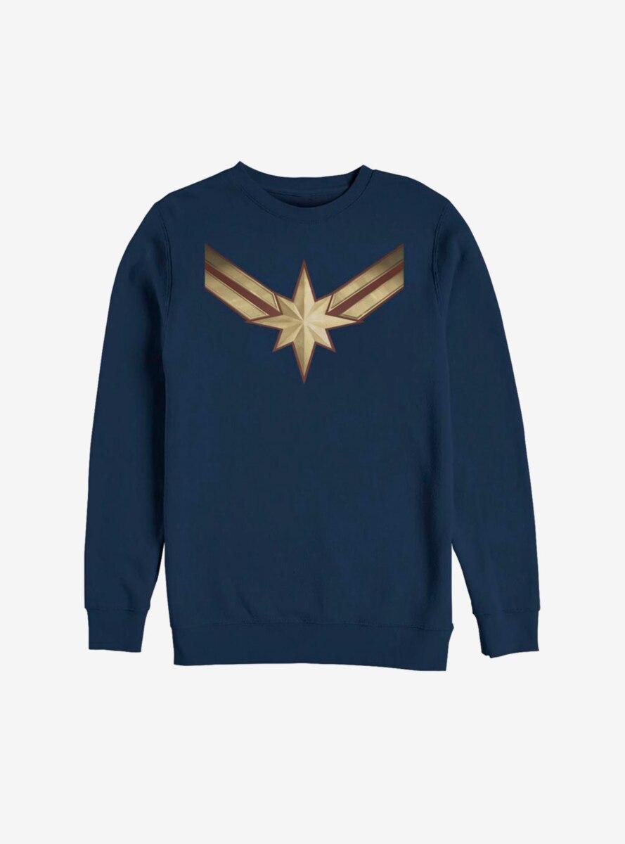 Marvel Captain Marvel Costume Sweatshirt